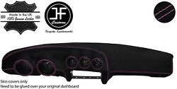 Pink Stitching Dash Dashboard Luxe Suede Cover Fits Datsun 260z 2+2 Jf1