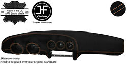 Beige Stitching Dash Dashboard Luxe Suede Cover Fits Datsun 260z 2+2 Jf1
