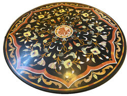 42 Dining Center Marble Inlay Table Top Pietra Dure Arts Work