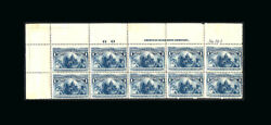 Us Stamp Mint Vf S230- Plate Block Of 10 With Number Imprint And Letter 7 Sta