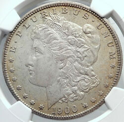 1900 United States Of America Silver Morgan Us Dollar Coin Eagle Ngc Ms I82204