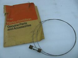 Nos Harley Davidson Control Cable Wire And Plunger Panhead Shovelhead Sportster