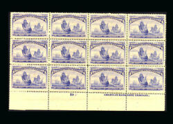 Us Stamp Mint Original Gum Never Hinged Vf 233 Blk Of 12 More Than Half Are Vf