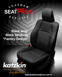 Leather Seat Covers Kit For 2011-2020 Toyota 4runner Black 2 3 Row Factory Match
