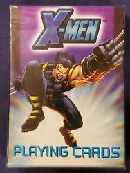 Bicycle Ohio Made X-men Wolverine W/ Other Marvel Characters Playing Cards Deck