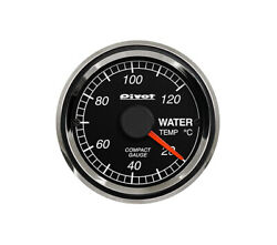 Pivot Compact Gauge52 White For Toyota Isis Zgm10 15w 2zr-fae Cpw