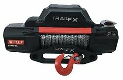 Trail Fx Wrs12b Vehicle Recovery Winch 12 Volt 12000lbs 94and039 Wire Rope