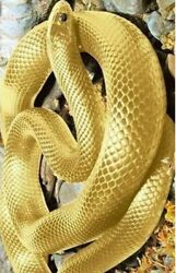 Golden Snake Diamond Painting Embroidery Animal Design Diy House Wall Decoration