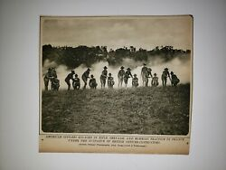 American Soliders Grenade Rifle Practice France 1918 World War1 Ww1 Picture