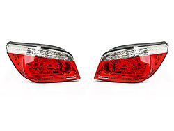 Bmw 5 Series E60 Lci New Genuine Led Rear Tail Lights Pair Left Right