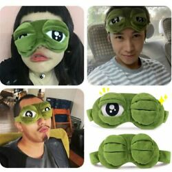 3D Eye Mask Sleep Soft Padded Shade Cover Rest Relax Sleeping Blindfold Cute FUN