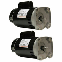A.o. Smith Century Full Rate 1hp 3450rpm Single Speed Pool Pump Motor 2 Pack