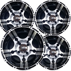 12 Atv Rim Wheel For Bombardier Can-am With Solid Rear Axle 12x7 4/110 Machined