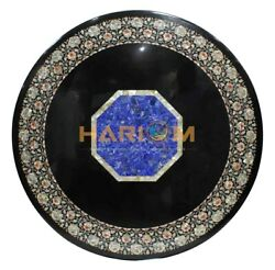 48 Marble Dining Table Top Mother Of Pearl Lapis Inlay Arts Garden Decors B225b