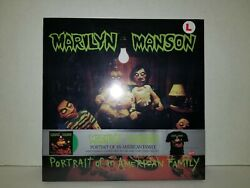 MARILYN MANSON - PORTRAIT OF AN AMERICAN FAMILY Vinyl sealed w Large T-Shirt
