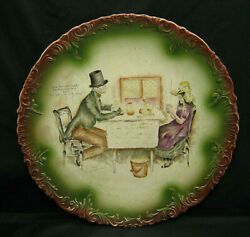 Haynes Chesapeake Pottery Wall Plate Charged Old Curiosity Shop Marchioness 13