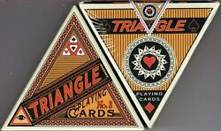 Triangle Limited Edition Playing Cards Deck Fpcc Custom New Sealed