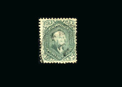 Us Stamp Used, Vf S70b Light Cancel, Lovely Fresh Color With Very Unusual Green