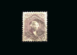 Us Stamp Used, Xf S70 fresh Bold Color, Light Cancel, Jumbo Margins, Very Wide