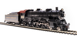 Ho Western Maryland Rr Light Pacific Loco 4-6-2 W/pargon3 Sound Dcc/dc-top Buy