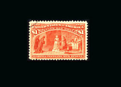 Us Stamp Used, Vf S241 Extremely Light Cancel, Great Color And Freshness