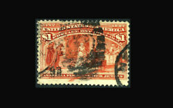 Us Stamp Used, Vf S241 -1893 Cancel