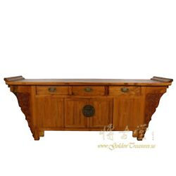 Antique Chinese Altar Cabinet Sideboard/buffet Table