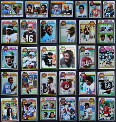 1979 Topps Football Cards Complete Your Set You U Pick From List 1-259