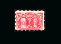 Us Stamp Mint Og And Hinged, Vg S243 Very Fresh Bold Color