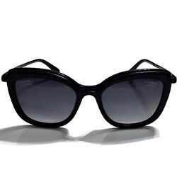 NEW Authentic CHANEL Polarized Butterfly Sunglasses CH4238 4238 A c.888 S8 Black $395.00
