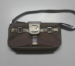 Guess Women#x27;s Purse Small Bag Party Brown Bronze $7.00