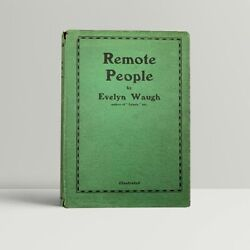Evelyn Waugh Andndash Remote People Andndash First Uk Edition 1931 - 1st Book