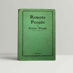 Evelyn Waugh – Remote People – First Uk Edition 1931 - 1st Book