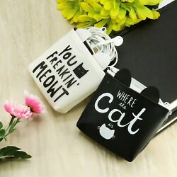 Portable Purse with Funny Graphic Designs Adorable Kitty Designs Four purses!