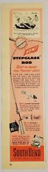 1951 Print Ad South Bend Fishing Lures And Stepglass Rods Made In South Bend,in