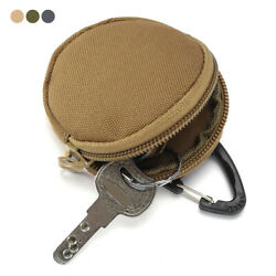 900D Tactical Wallet Pouch Portable Key Coin Purse With Hook Earphone Bag Holder
