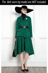 Custom Made To Order 2pc Wool Party Blazer Jacket Skirt Suit Plus 1x-10x Y375