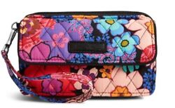 NWT VERA BRADLEY FLORAL FIESTA ALL IN ONE CROSSBODY FOR IPHONE 6 67 $50.00