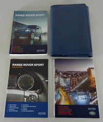 Document Kit + Manual Owner's Manual + Wallet Range Rover Sport Stand 2011