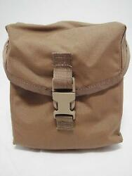 Official Us Military Molle Ii - Saw Gunner Mag Utility Pouch Coyote Brown Nylon
