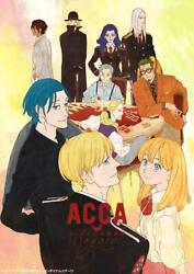 Acca 13-territory Inspection Dept...-s/t-japan 2 Blu-ray+book Ltd/ed Ah13 Sd