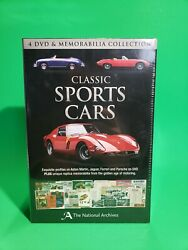 Classic Sports Cars 4 Dvd And Memorabilia Collection