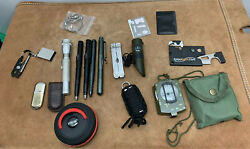 Military Army Field Gear Equipment Strike Pen Leatherman Tool Compass