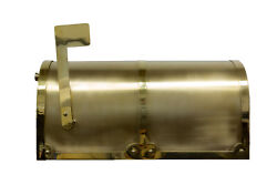 Provincial Collection Brass Mailboxes Rural Mb-3000 In Polished Brass