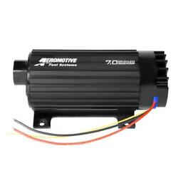 Aeromotive Electric Fuel Pump 11197 7.0 Gpm Brushless Gear Black Anodized