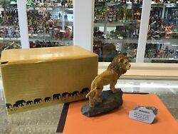 Martha Carey - The Herd - Monarch With Stone 3601 - Complete - Mib