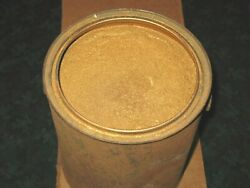 Antique Gallon Can 17 Pounds Gold Bronze Bronzing Powder Worth Weight In Gold