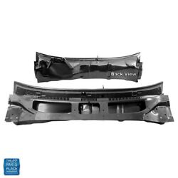 1970-1972 Gm Cars Upper Cowl Panel With Lower Support Attached Assembly Ea