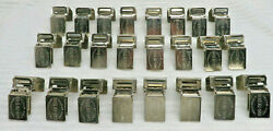 AREA RUG CLIPS FOR DISPLAY STEEL HANGING CLIP GRIPPERS HOLDERS CLAMPS U PIK QTY $1.29
