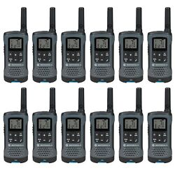 Motorola Talkabout T200 Two-way Radio, 20 Mile,12 Pack, Grey - Brand New